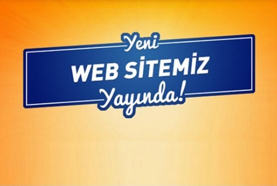 Web Sitemiz Yenilendi.